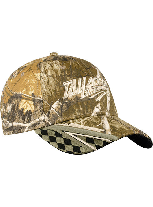 Talladega Superspeedway Checkered Camo Hat