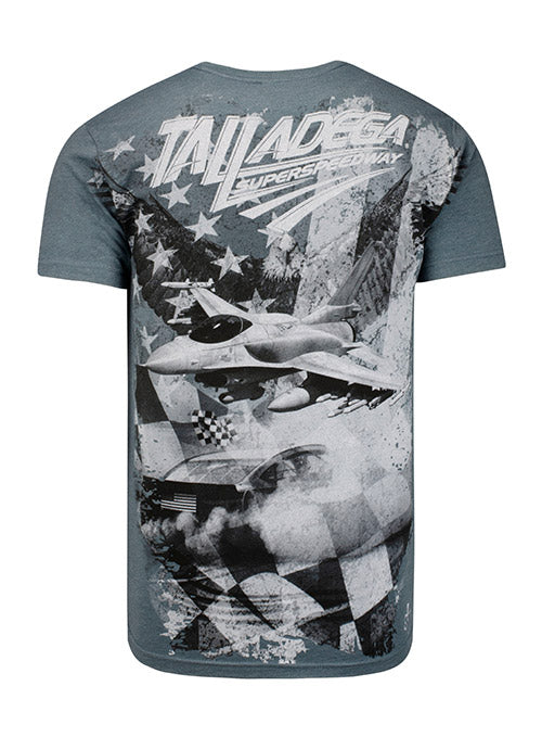 Talladega Superspeedway All Over Print Pocket T-Shirt