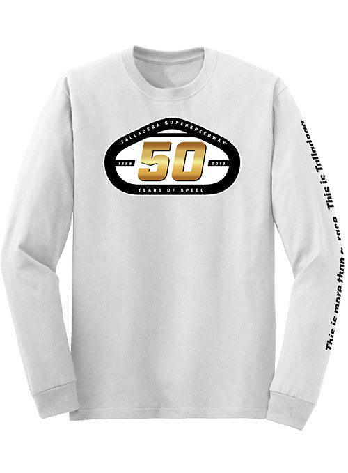 2019 Talladega Superspeedway 50th Anniversary Long Sleeve T-Shirt