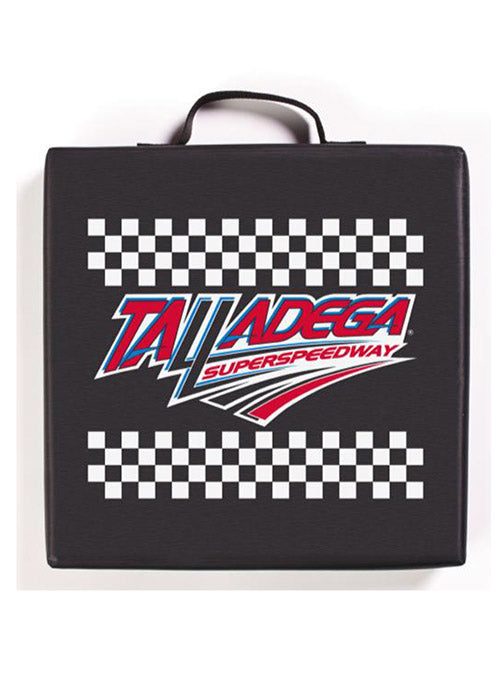 Talladega Superspeedway Checkered Seat Cushion