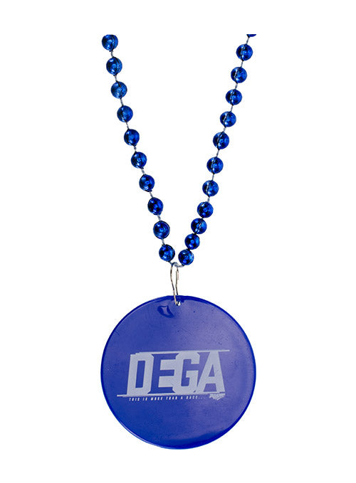 Talladega Superspeedway Blue Mardi Gras Beads