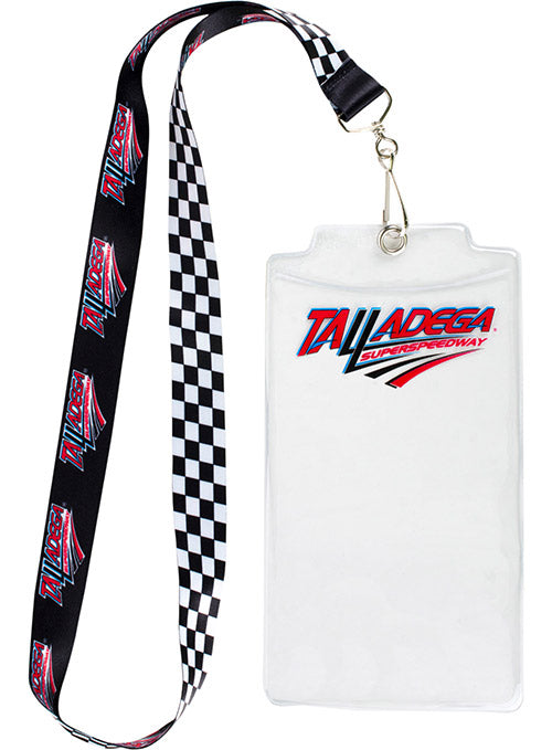 Talladega Superspeedway Checkered Credential Holder