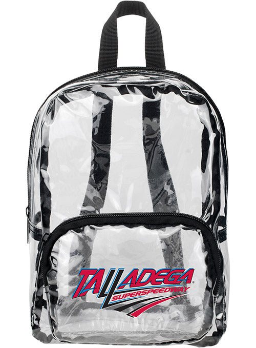 Talladega Superspeedway MINI Clear Backpack