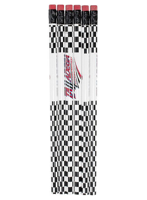 Talladega Superspeedway 6-Pack Checkered Pencil