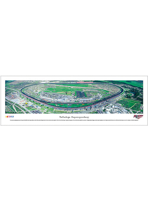 Talladega Superspeedway Unframed Panoramic Photo