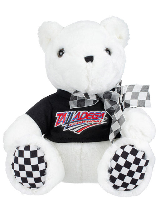 Talladega Superspeedway Checkered Paw Teddy Bear