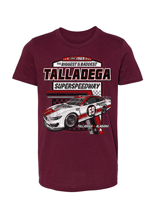Youth 2021 Talladega Superspeedway Past Champions T-Shirt
