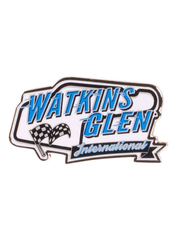 Watkins Glen International Checkered Seat Cushion