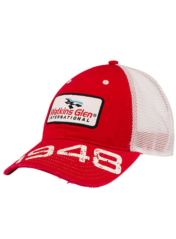 2019 Go Bowling At The Glen Perforated Hat
