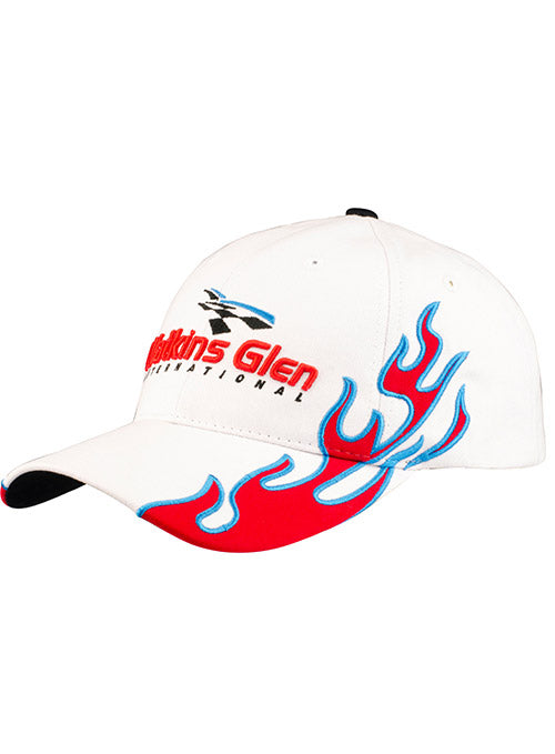 Watkins Glen International Flames Hat