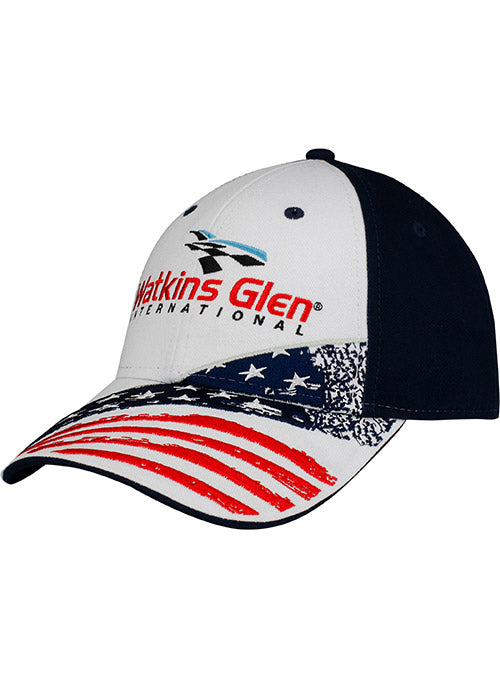Watkins Glen International American Flag Hat