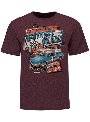 Watkins Glen International New York Long Sleeve T-Shirt