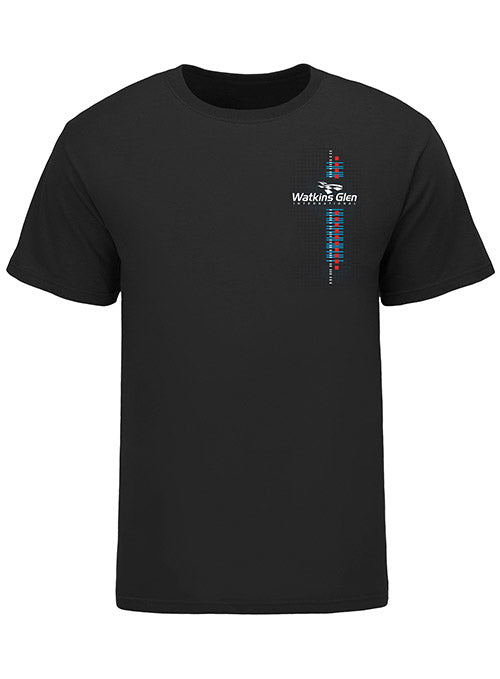 Watkins Glen International Track Outline T-Shirt