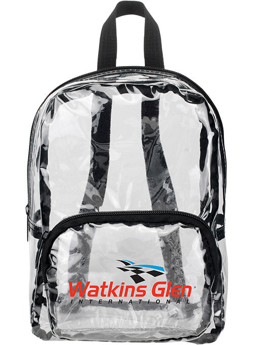 Watkins Glen International MINI Clear Backpack