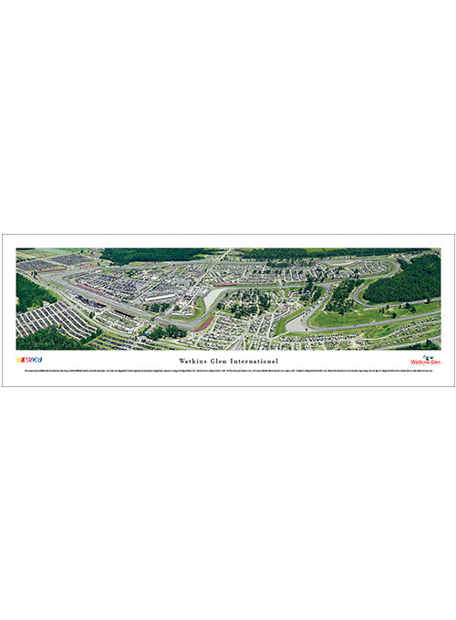 Watkins Glen International Unframed Panoramic Photo