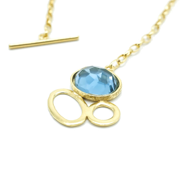 Matilde Necklace - Blue