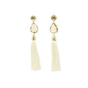 Mafalda Earrings- Nude