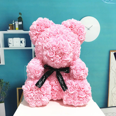Image of The Rose Teddy Bear
