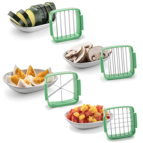 Image of Dicer Chopper Multi-functional 5 in 1 Cutters Set