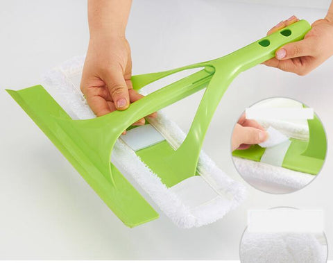 Image of Telescopic Sponge Mop Windows Cleaning