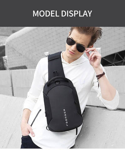 Multifunction Chest Bag USB Charging