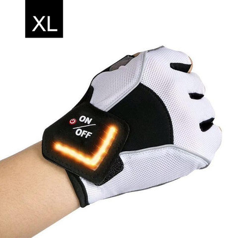 Outdoor LED Tactical Riding Gloves
