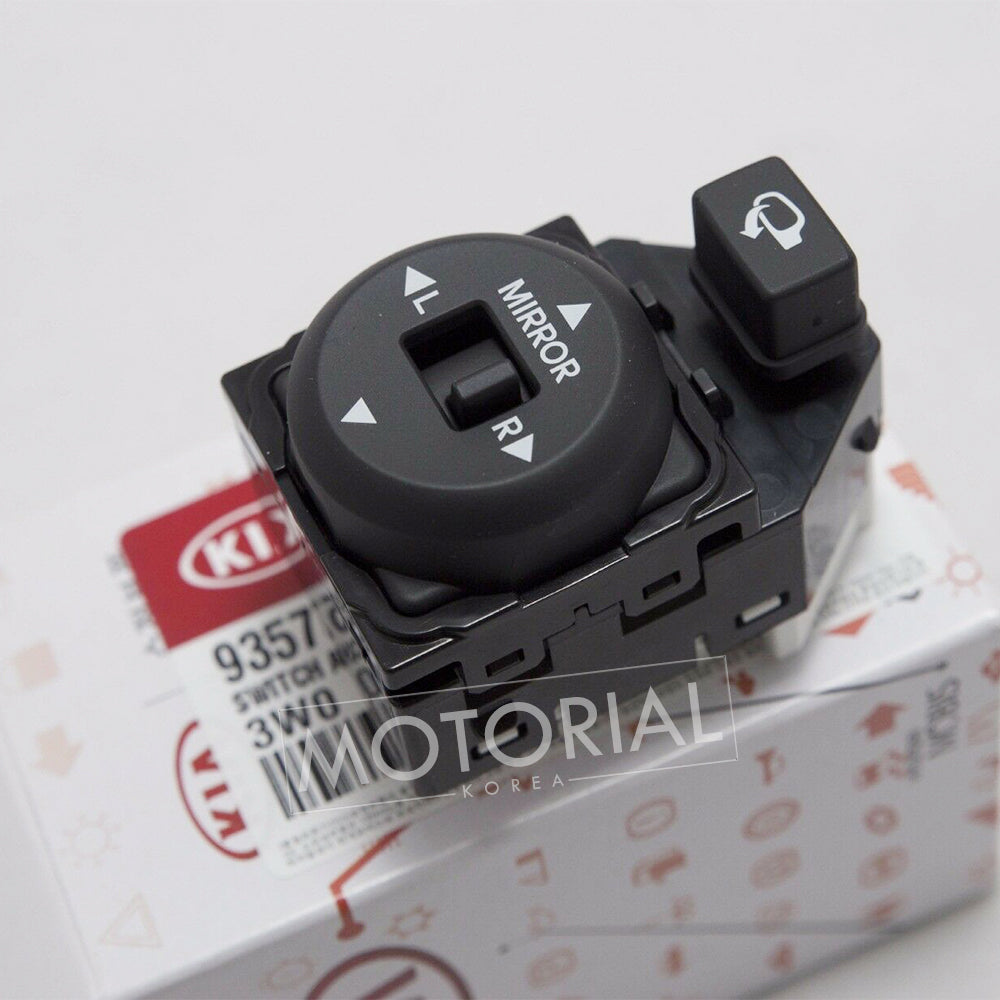 2011-2016 KIA SPORTAGE Genuine OEM Folding Window Mirror Control Switch 1EA 935733W100WK