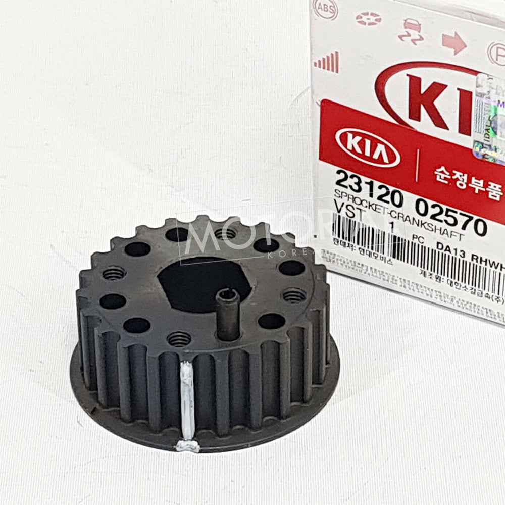 KIA PICANTO MORNING Genuine 2312002570 Crankshaft Sprocket