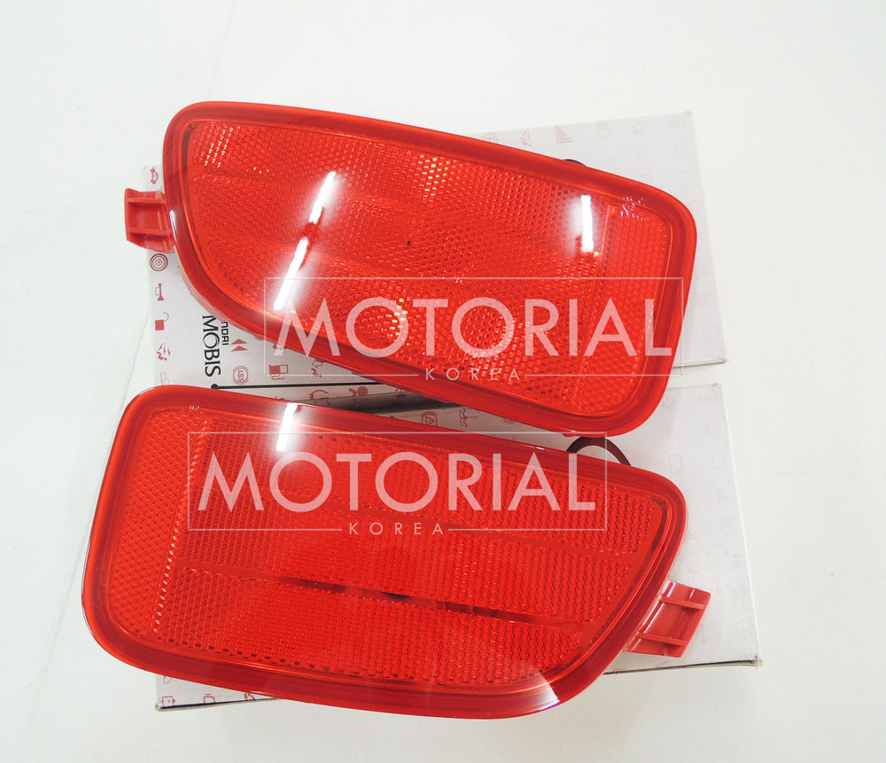2012 2013 KIA SOUL Genuine OEM Lamp Assy-Rear Bumper Reflector 2EA 1Set