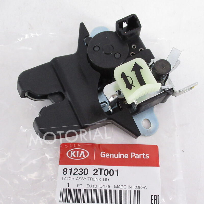2011-2015 KIA OPTIMA Genuine OEM Rear Trunk Lock Latch Actuator Motor 812302T001
