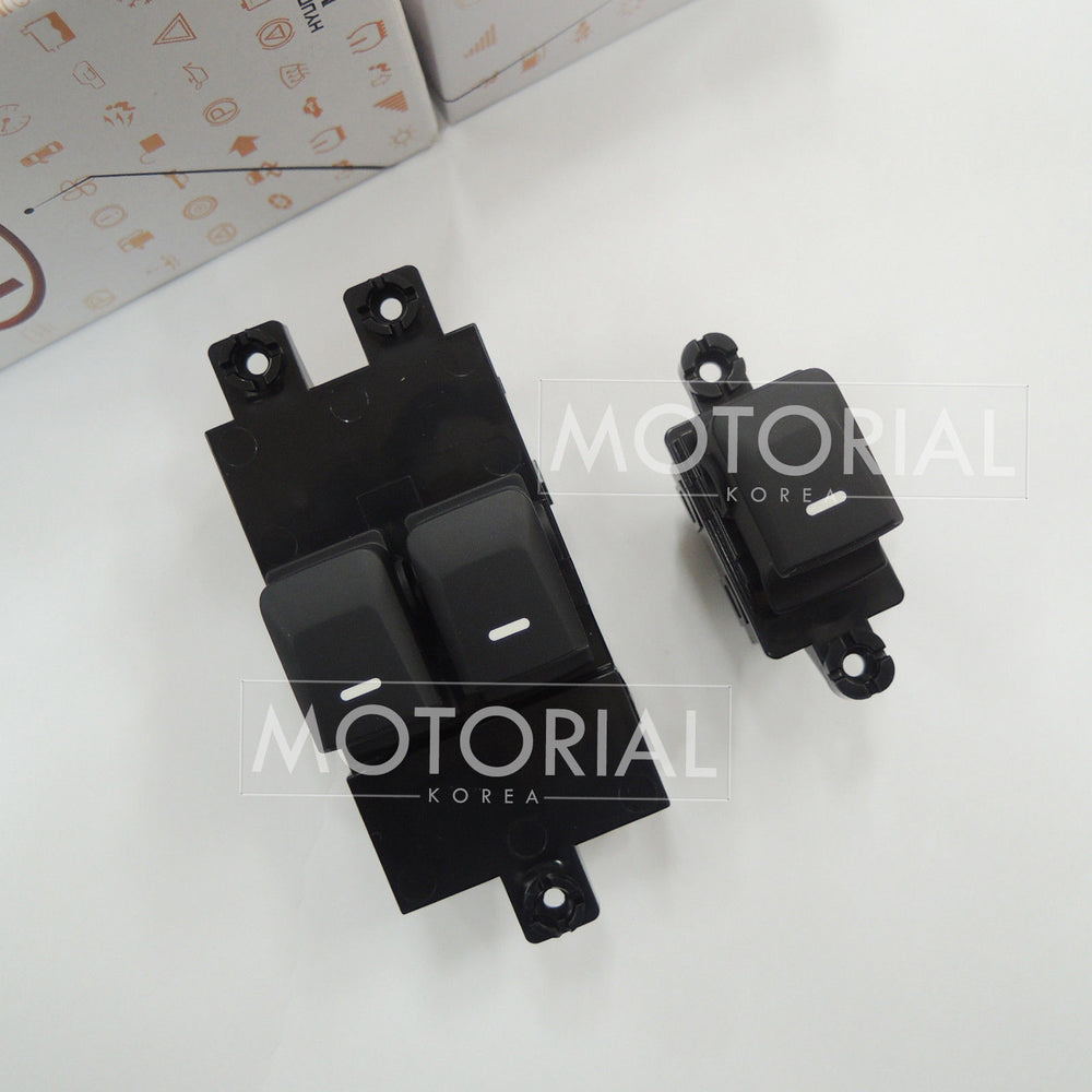 2011-2016 KIA PICANTO / MORNING OEM Front LH RH Power Window Switch 2pcs Set