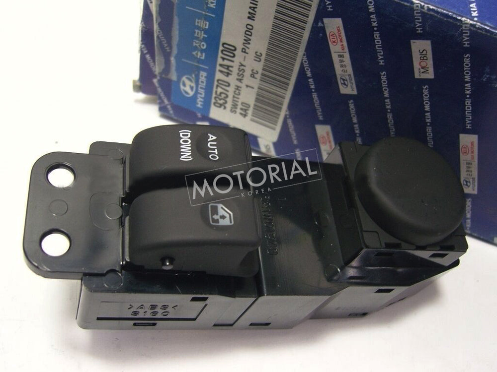 2001-2007 HYUNDAI H-1 H1 STAREX Genuine POWER WINDOW MAIN SWITCH 935704A100