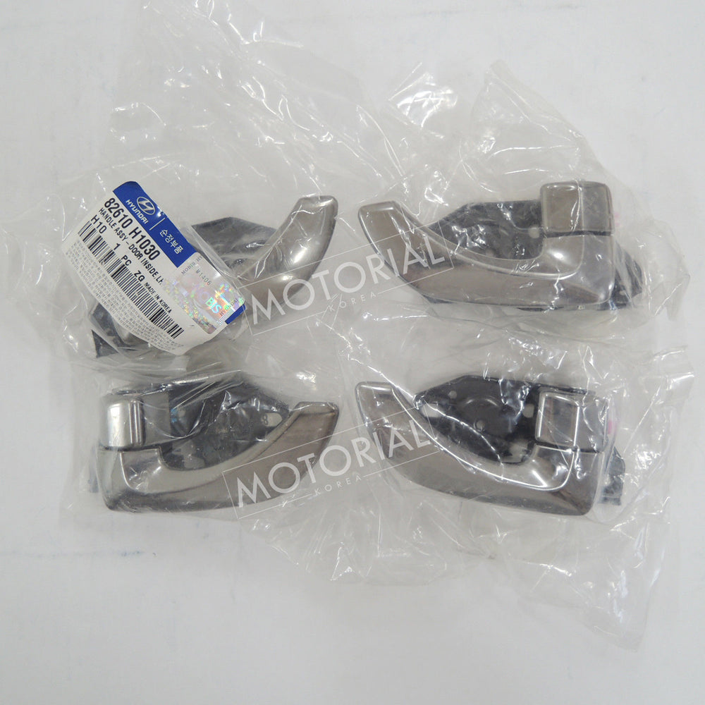 2001-2007 HYUNDAI TERRACAN Genuine OEM Inside Door Catch Handle 4pcs Set
