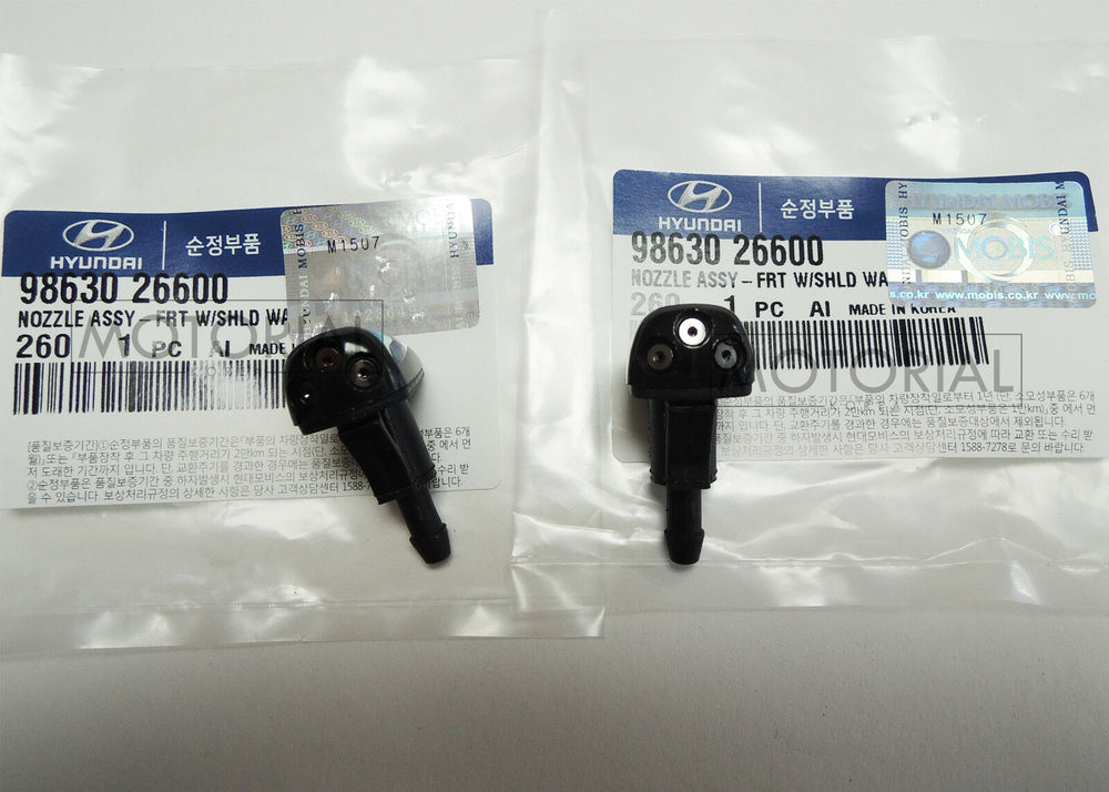OEM Windsheild Washer Nozzle 2pcs Set For HYUNDAI SONATA 11-13 / ACCENT 11-13
