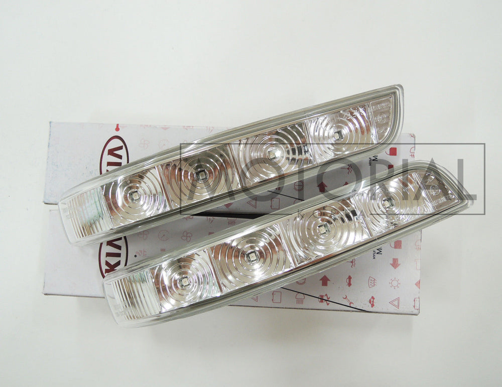 KIA SORENTO 2011-2014 OEM Lamp Assy-Outside Mirror LED Repeater 2P Set