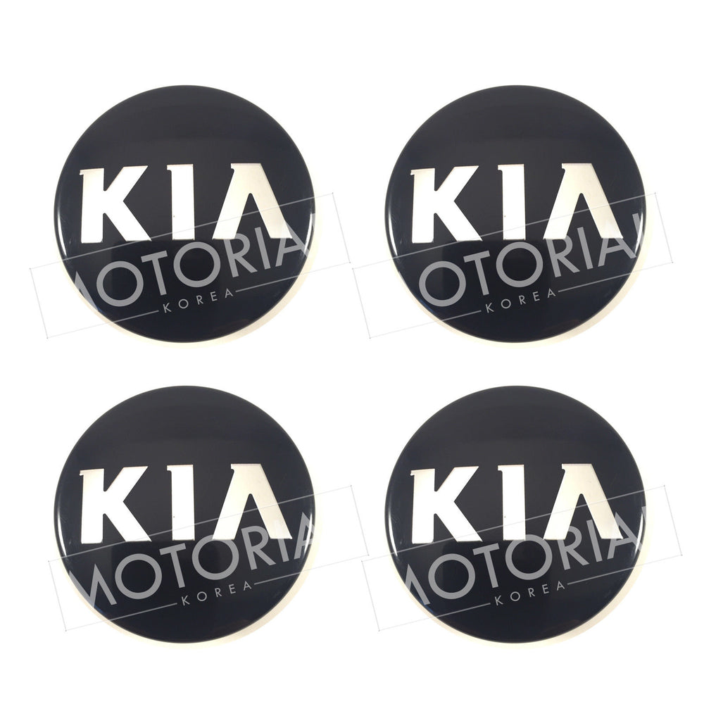 2009-2016 KIA FORTE / CERATO (& Koup) Genuine OEM Wheel Center Hub Cap 4pcs Set