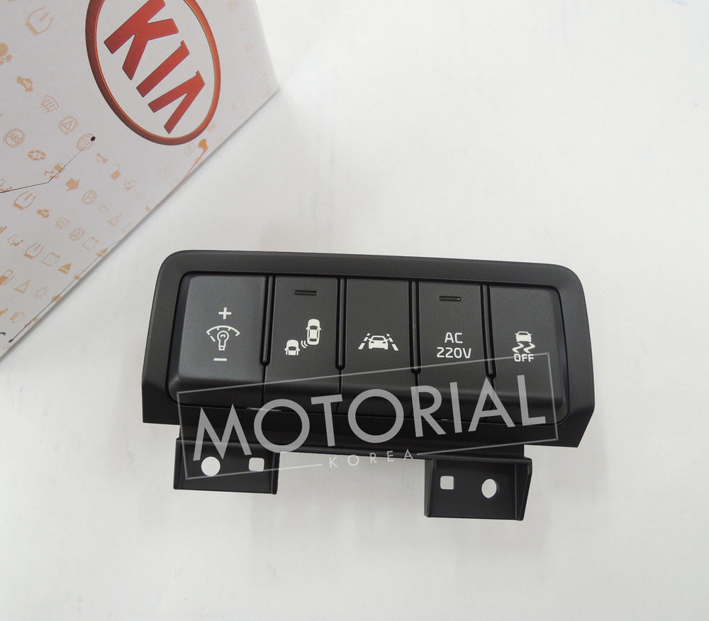 2015-2018 KIA SEDONA / CANIVAL Genuine OEM Side Crash Pad Switch Assy