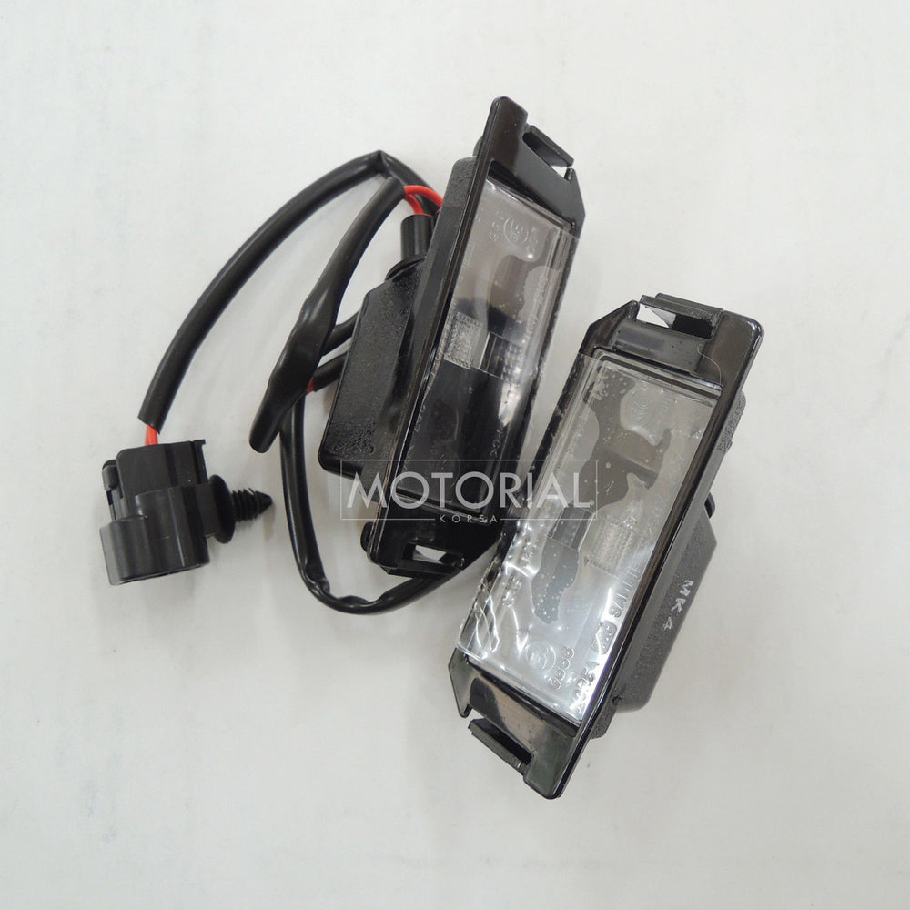 2011-2014 KIA PICANTO / MORNING OEM Rear License Plate Light Lamp 925011Y000