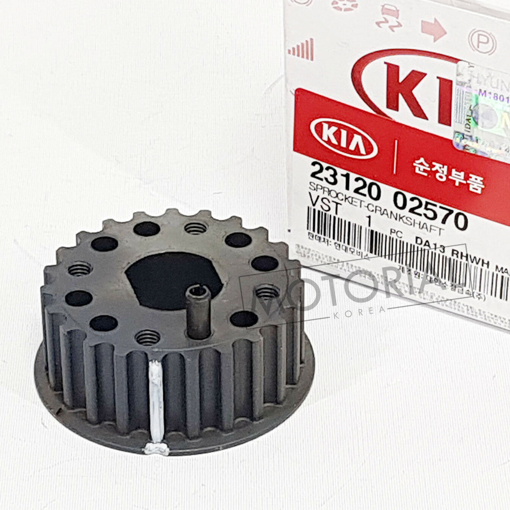 2002-2011 HYUNDAI GETZ 1.1L Genuine 2312002570 Crankshaft Sprocket