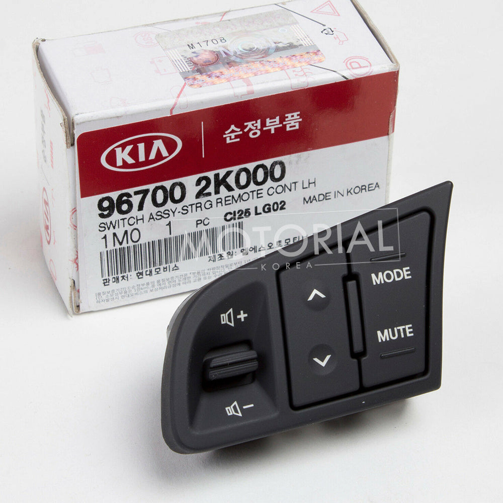 2010-2013 KIA SOUL Genuine OEM Steering Wheel Audio Switch #967002K000