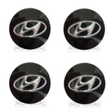 2010-2018 HYUNDAI TUCSON / ix35 Genuine OEM Wheel Center Hub Cap 4EA Set
