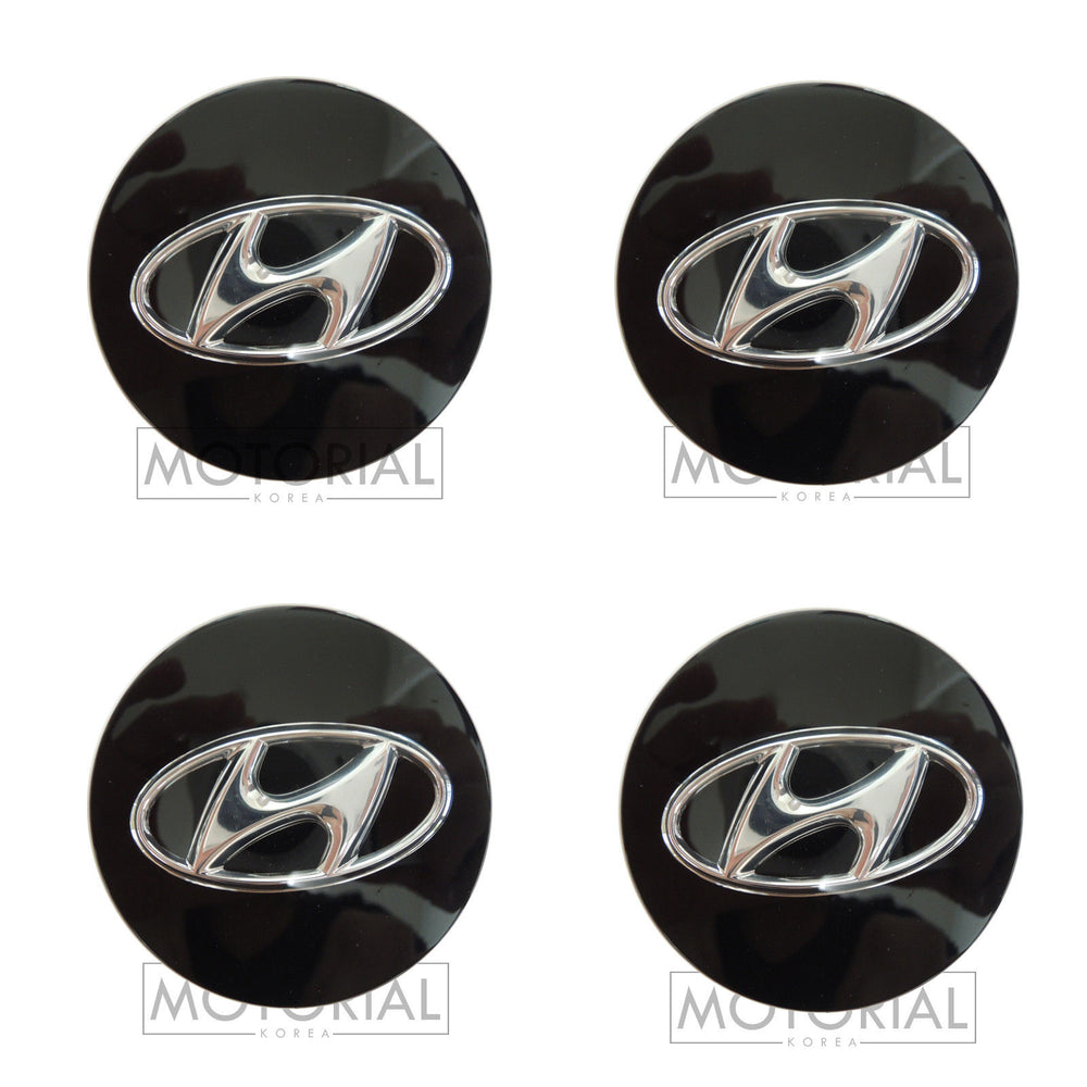 2013-2015 HYUNDAI SANTA FE Genuine OEM Wheel Center Hub Cap 4EA Set