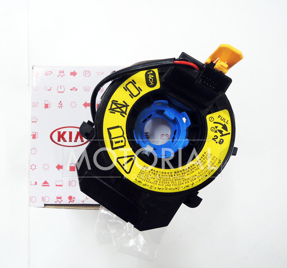 2013-2016 KIA CARENS RONDO OEM 14 Channel Clock Spring Contact Assy 93490A4110