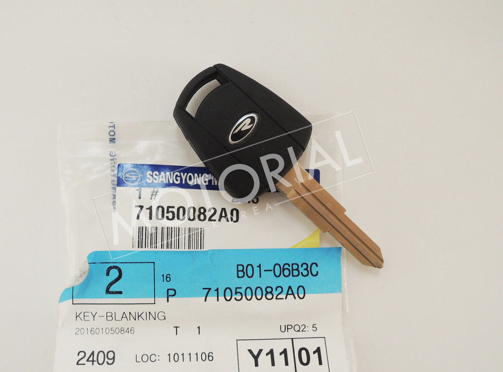 SSANGYONG REXTON 2004-2006 Genuine OEM Blanking Key Immobilizer