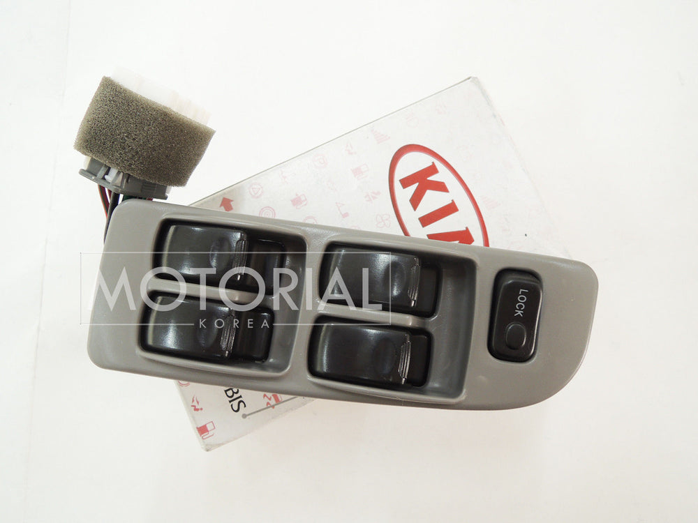 1999-2003 KIA SPORTAGE Genuine OEM Power Window Main Switch Assy 0K03T6635096