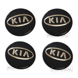 2006-2011 KIA RONDO / CARENS OEM KIA LOGO Wheel Center Hub Cap 4Pcs Set
