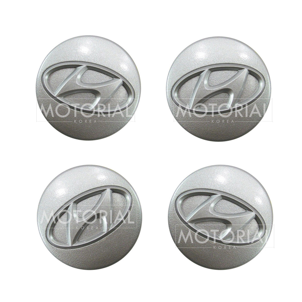 2001-2006 HYUNDAI ELANTRA / AVANTE Genuine OEM Wheel Center Hub Cap 4Pcs Set 5296027700