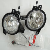 2012-2013 KIA SOUL Genuine OEM Fog Light Lamp + Wire 4pcs Set