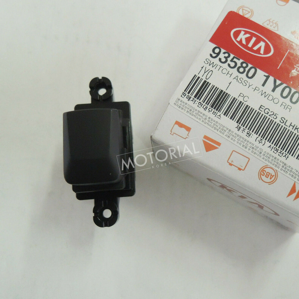 2011-2016 KIA PICANTO / MORNING Genuine Rear Power Window Switch Left / Right 935801Y000