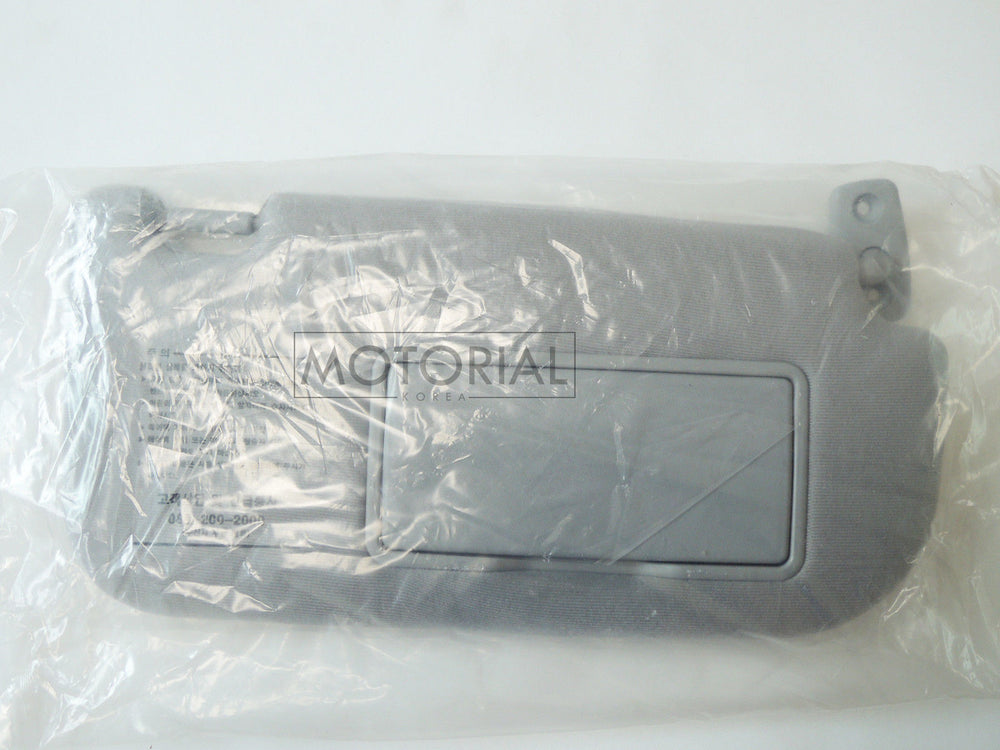 KIA SPORTAGE 2005-2010 Genuine OEM Sunvisor Assy Left + Right Gray